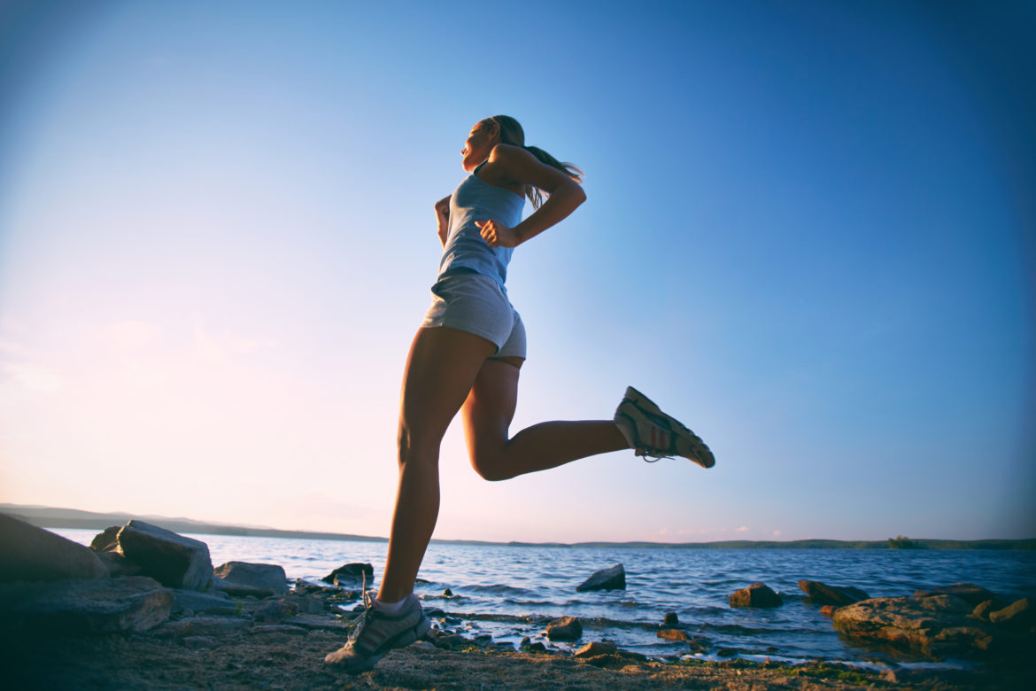 Running posture - shoulder knee alignment - physiotherapy